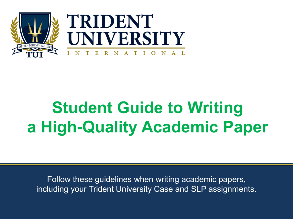 effective academic writing pdf