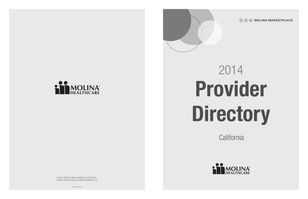 2014 Provider Directory