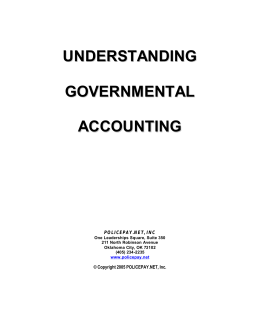 Understanding Governmental Accounting