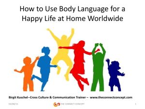 How to Use Body Language for a Happy Life at Home Worldwide