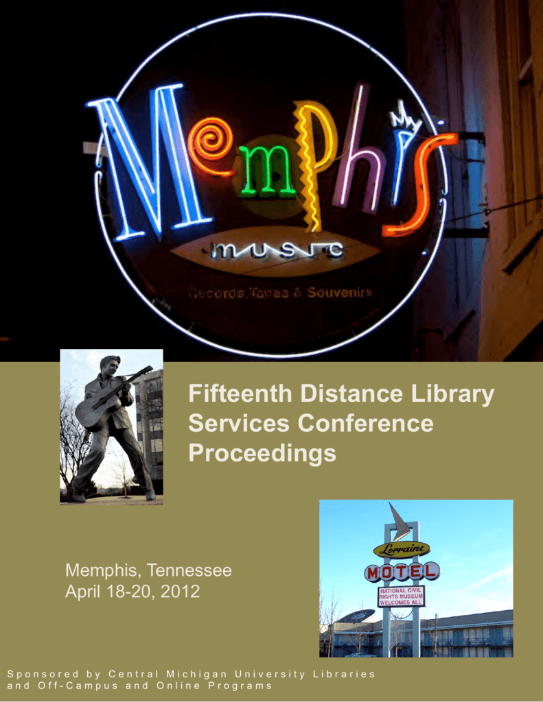 Fifteenth distance library services conference proceedings fandeluxe Image collections
