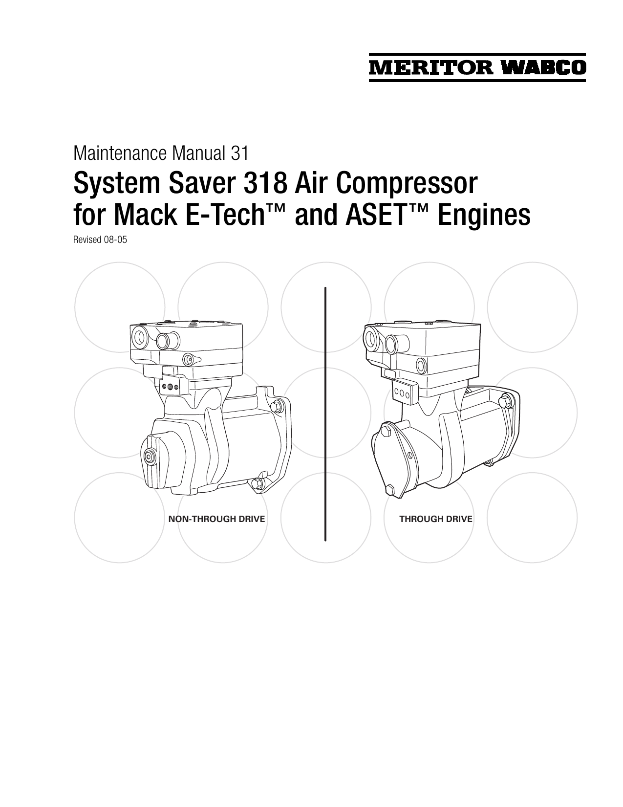 Wabco Meritor Wiring Diagram Abse Ebs System Saver 318 Air Compressor For Mack E On
