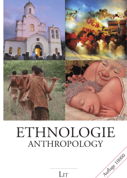 Ethnologie / Anthropology
