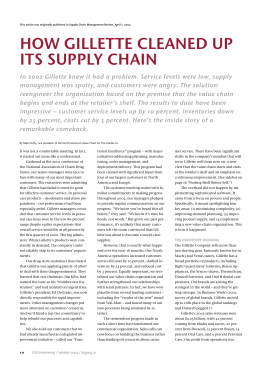 This article was originally published in Supply Chain
