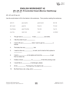 english worksheet 42