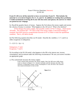 econ 207 exam 1 notes 2018 summer money and banking econ 207 basic information a two-hour final exam is included as an assessment task for this week 1 m orientation t.