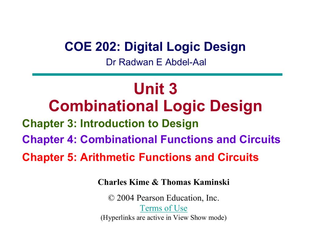 Chapter 2 Part 1 Ppt Mano Kime Decoder 4 Input Circuit 8 Bit Binary To Decimal Converter