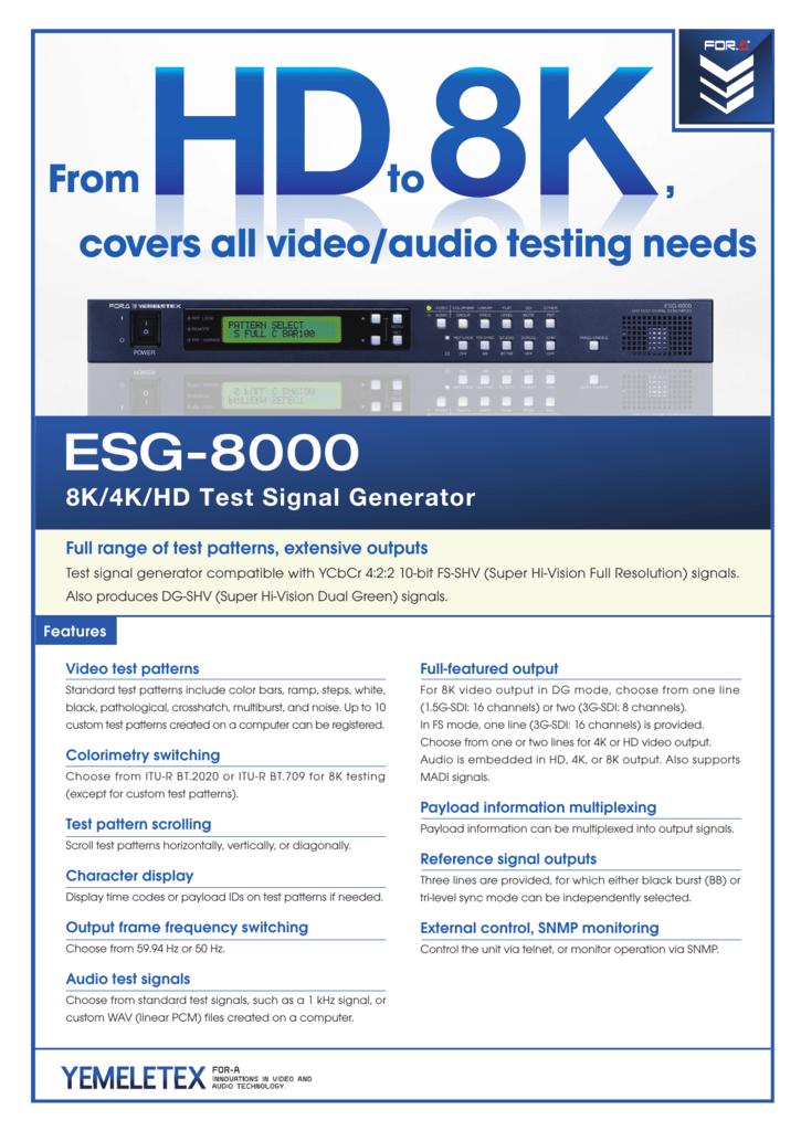 ESG-8000