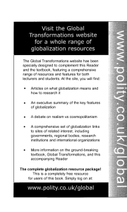 The complete globalization resource package!