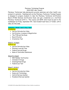 MMACHS-Syllabus for Pharm Tech(Pass Assured)