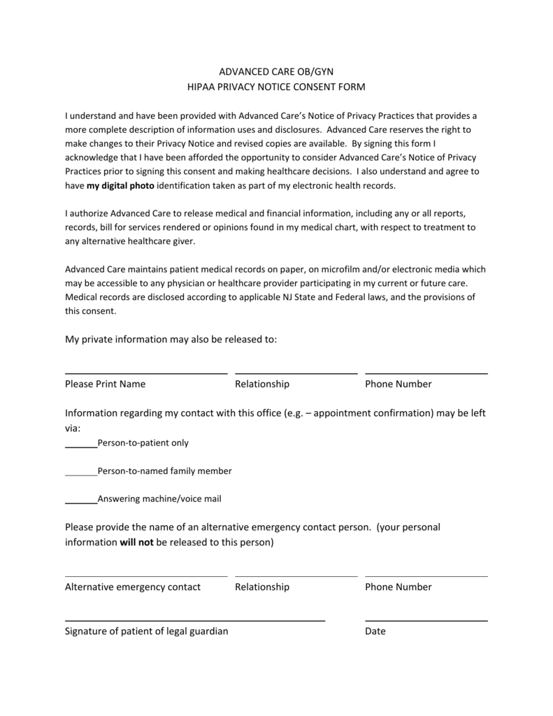 standard medical release form pike productoseb co