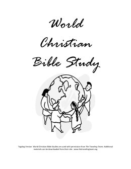 World Christian Bible Study
