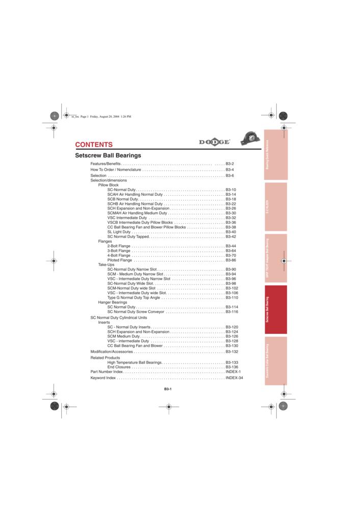 1-1//8 INCH HOUSING Dodge 124467 TB-SC-102 BORE DIAMETER TAP