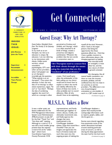 Guest Essay: Why Art Therapy? MISLA Takes a Bow