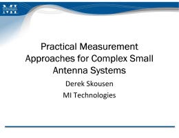 Practical Measurement Approaches for Complex