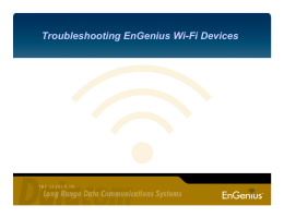 Troubleshooting EnGenius Wi
