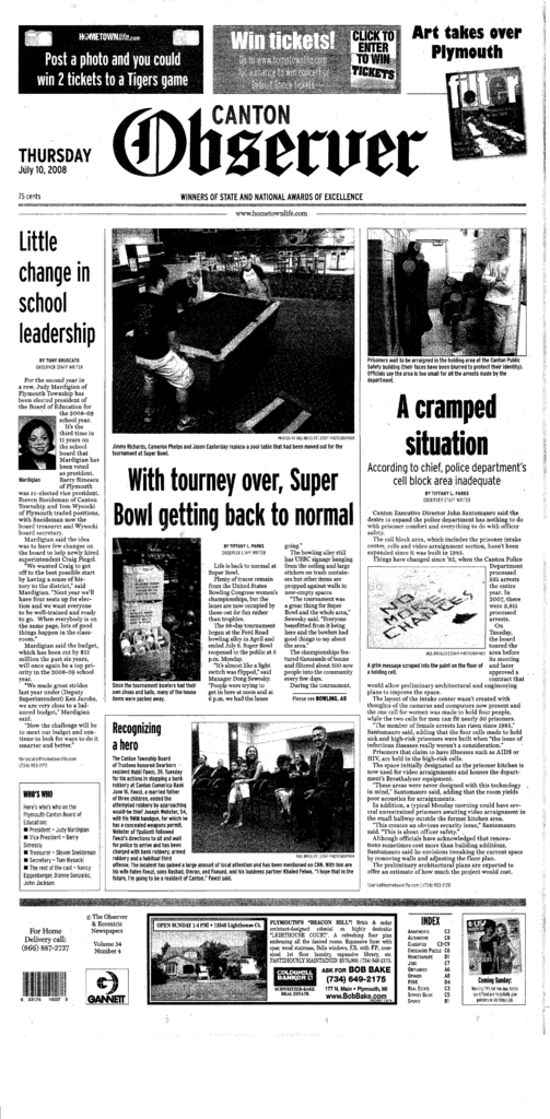 Canton Observer for July 10, 2008