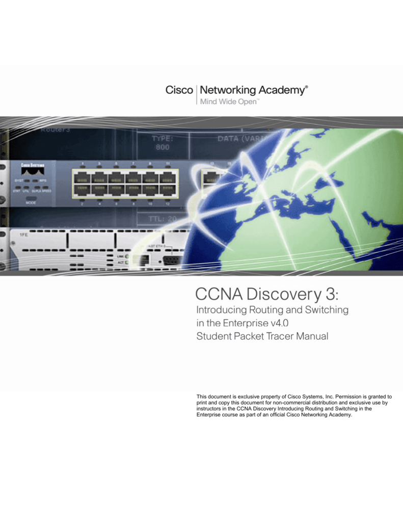 ccna routing and switched manual instructor