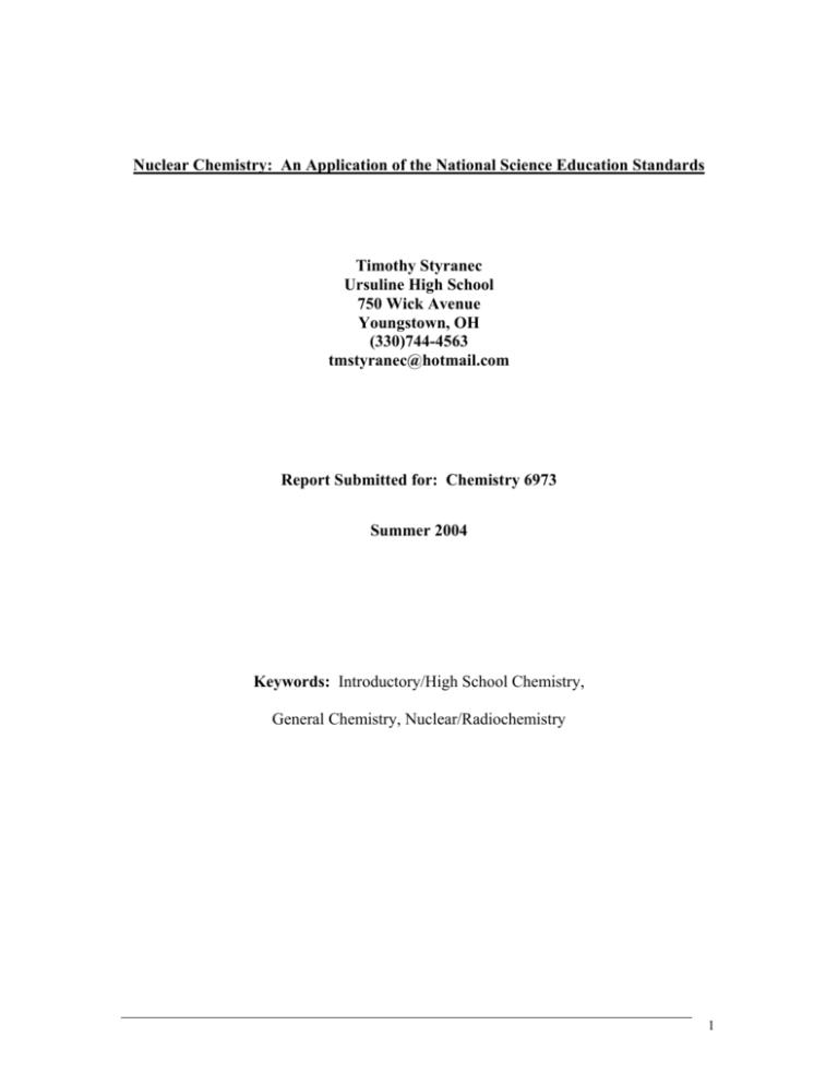 Answer webquest key elements radioactive RADIOACTIVITY WORKSHEET