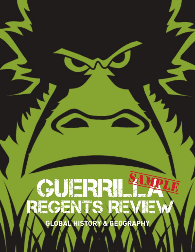guerrilla regents review answers