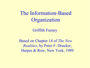 The Information-Based Organization