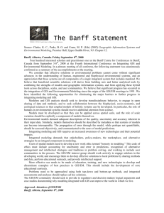 The Banff Statement