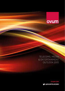 telecoms, media & entertainment outlook 2015