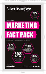 Marketing Fact Pack 2016