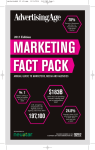 Ad Age Marketing Fact Pack 2015