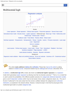 Multinomial logit - Wikipedia, the free encyclopedia