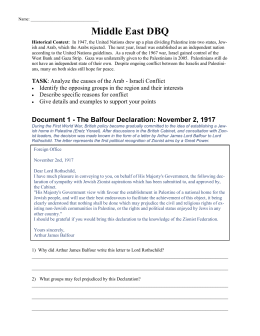 Middle East DBQ - Mr. Rivera's History Page