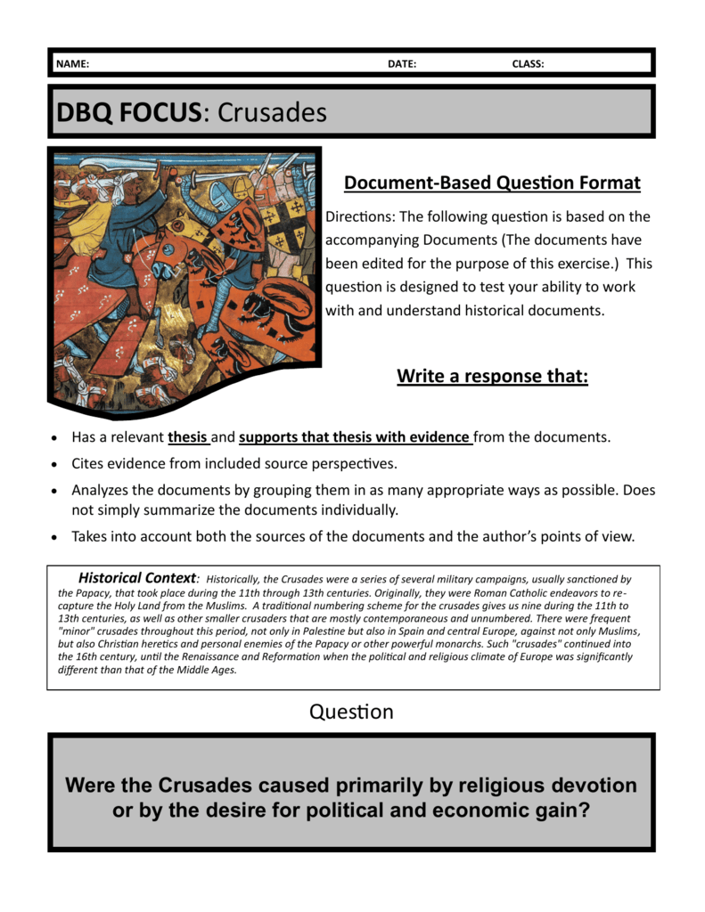 dbq for postclassical era Post-classical china document-based-question (dbq)  analyze the impact of the reestablishment of empire in east asia during the post-classical era.