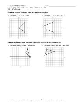 kuta software infinite geometry translations