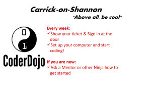 CD-CoS-Belts Program - Carrick-on