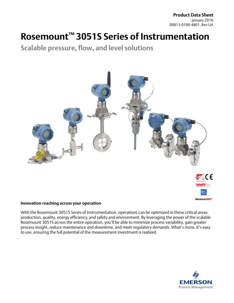 Rosemount 3051 Wiring Diagram M12 Electrical Product Data Sheet 3051s Series Of Instrumentation