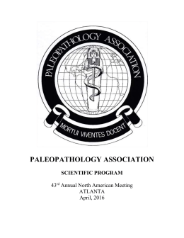 to open a PDF - Paleopathology Association