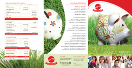 2010ANNUAL REPORT - Mattel Federal Credit Union