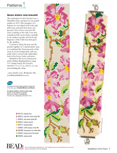 Patterns - Bead and Button Magazine