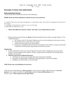 CRCT Study Guide Handout