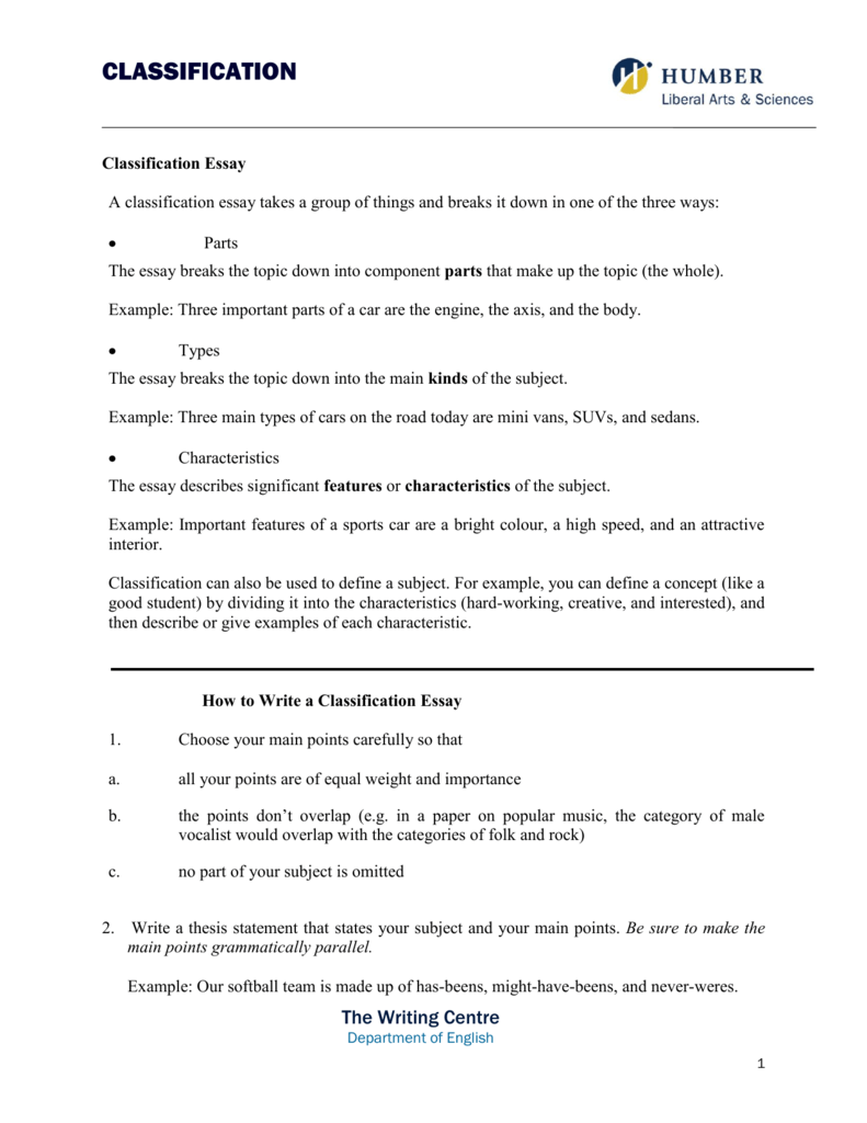 classification essay example classification essay on types of  fdeecdefebfcee png