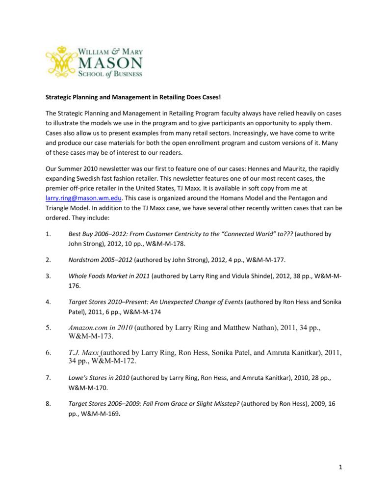 TJ Maxx - Babson College