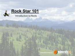 Rock Star 101 presentation
