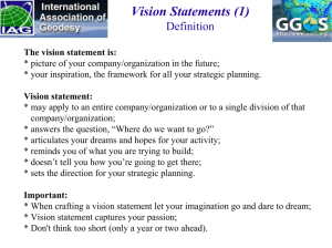 Vision Statements (1)