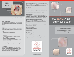 ABCs Public - Association For The Advancement Of Wound Care
