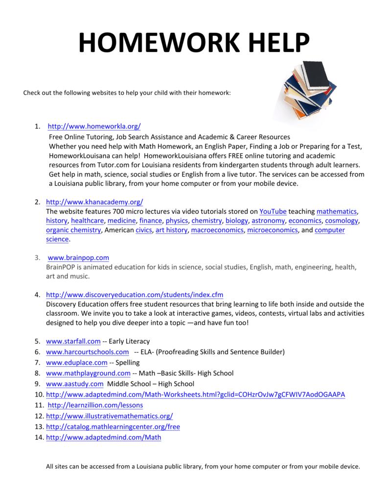 Uncategorized Starfall Math Worksheets websites for homework help 1 caddo parish magnet high school