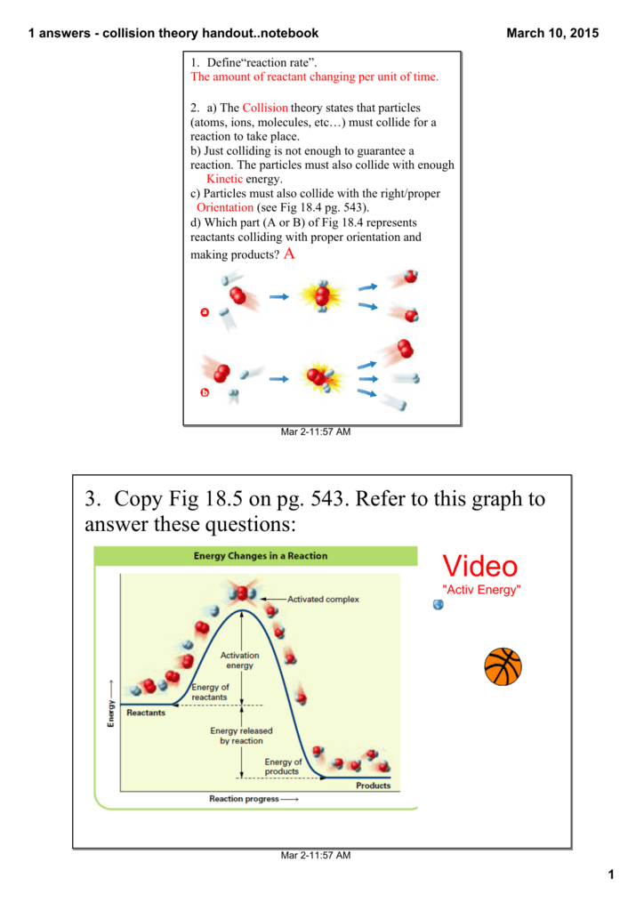 answers - handout on collision theory and activation energy