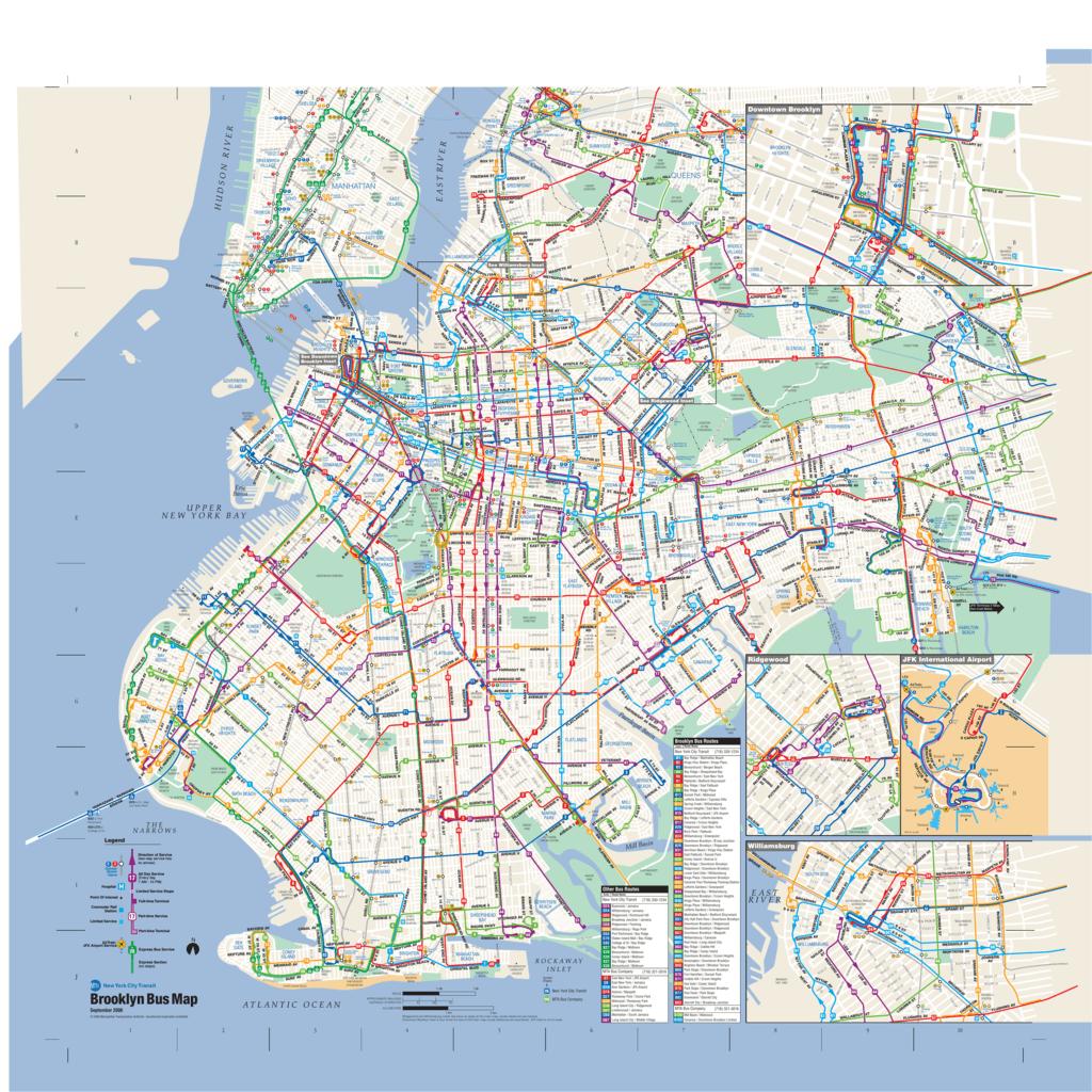 nyc mta brooklyn bus map Brooklyn Bus Map nyc mta brooklyn bus map