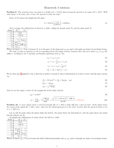PHYSICS 133 – General Physics: Electromagnetism