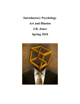 Introductory Psychology – Unit I