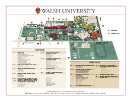 Walsh Campus Map.Denison Hall Was Erected In 1960 With Classrooms Laboratories
